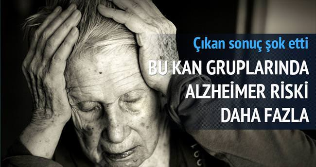 Alzheimer kan grubu ile bağlantılı