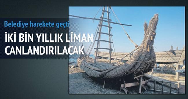 Urla'ya 2 bin yıllık liman
