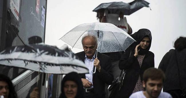 Seçim günü sağanak yağışlara dikkat