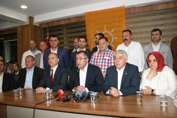 AK Parti İl Başkanı Keskin