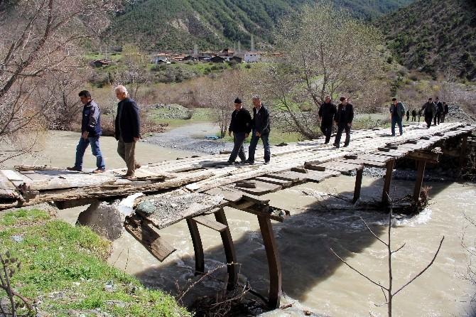 Köprü Yapılmayınca Köylüler Sandığa Gitmedi