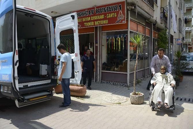 Mersin'de Engellilere Oy Kullanmaları İçin Araç Tahsis Edildi