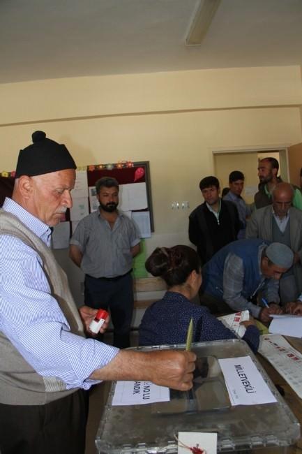 Van'da Oy Kullanma İşlemi Başladı