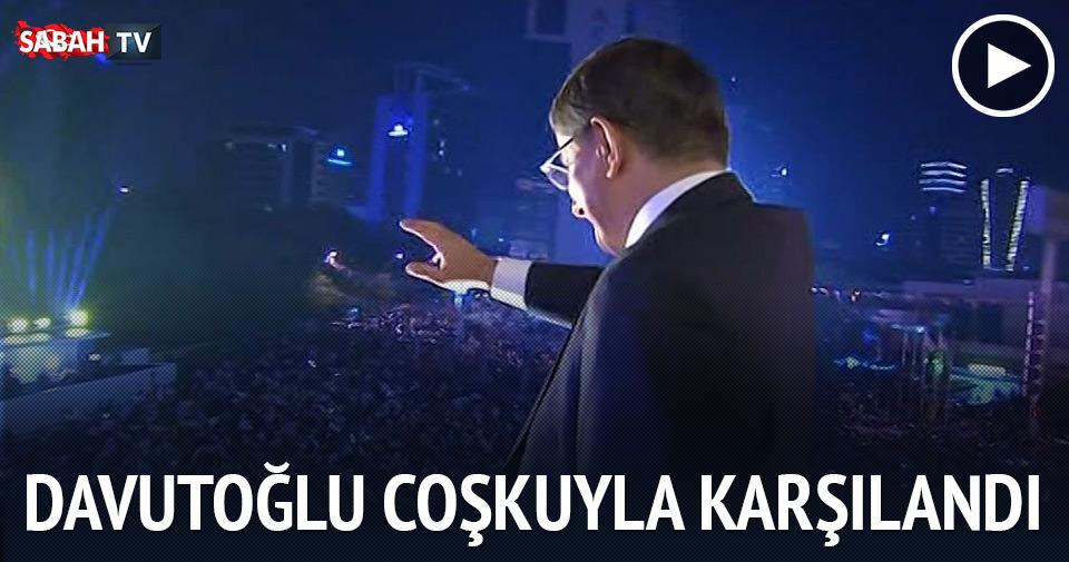 Davutoğlu: AK Parti seçimin galibi ve birincisidir