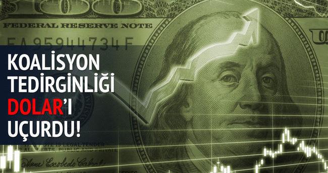 Piyasalarda koalisyon tedirginliği - Dolar ne kadar?