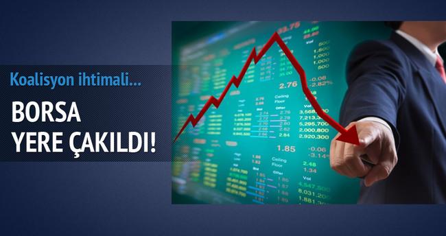Borsa güne yüzde 8,15 düşüşle başladı!