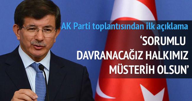 AK Parti'nin kritik toplantısından çıkan karar