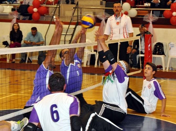 Oturarak Voleybol Türkiye Şampiyonası Ereğli'de Yapılacak