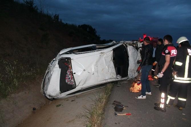 Tekirdağ'da Kaza: 1 Ölü, 1 Yaralı