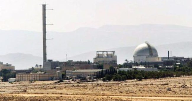 İsrail radyoaktif bomba denedi