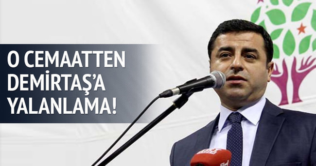 Med-Zehra'dan Selahattin Demirtaş'a yalanlama