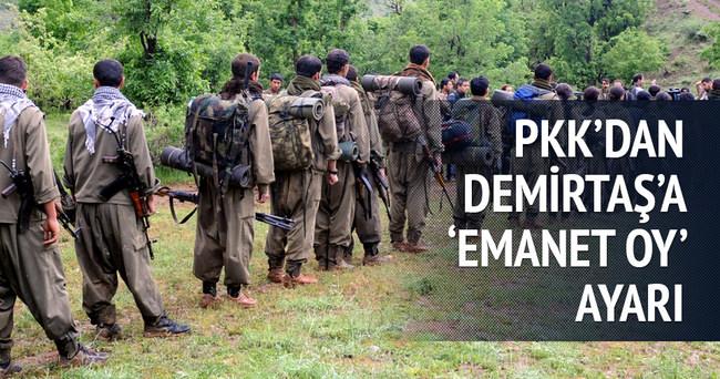 "PKK'dan HDP'ye ""emanet oy"" tepkisi"