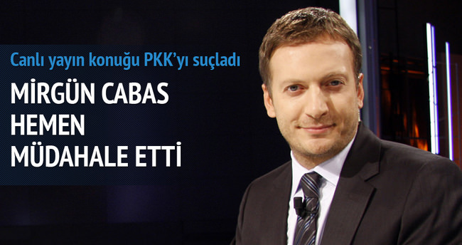 Mirgün Cabas saldırıyı PKK yaptı diyemedi