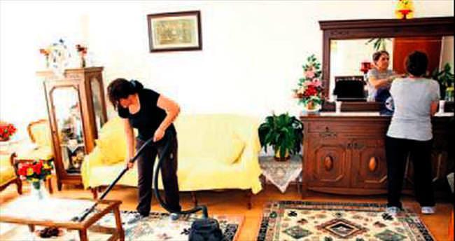 Evde temizlik hizmeti 103 haneye ulaştı