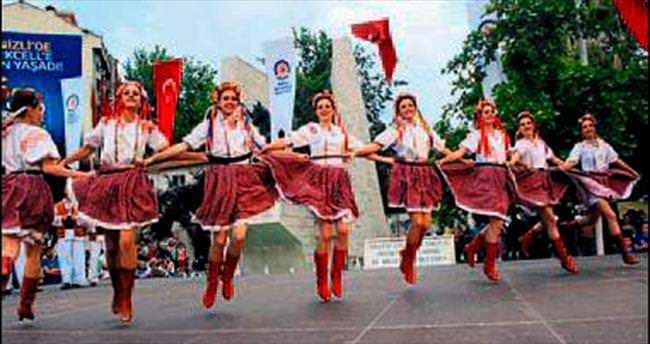 Denizli'de 'Halk Dansları Festivali'