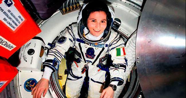Kadın astronot 196 gün ile rekor kırdı