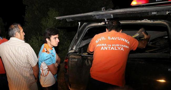 Dağda mahsur kalan liseli gençler kurtarıldı