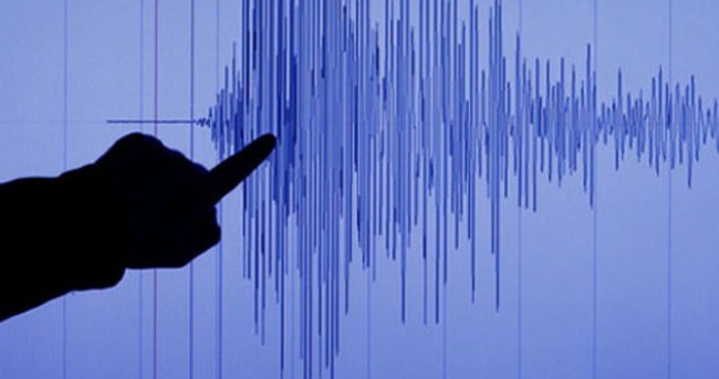 Akdeniz'de 5,3 büyüklüğünde deprem