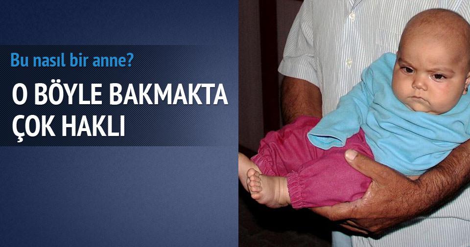 7 aylık bebeği sokağa bırakıp kaçtılar