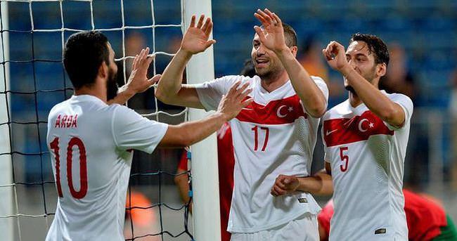A Milli Futbol Takımı Kazakistan'da