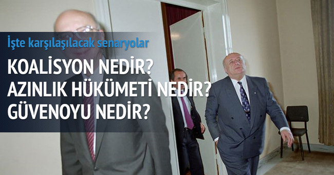 Türkiye'nin 'imkânsız' koalisyonları