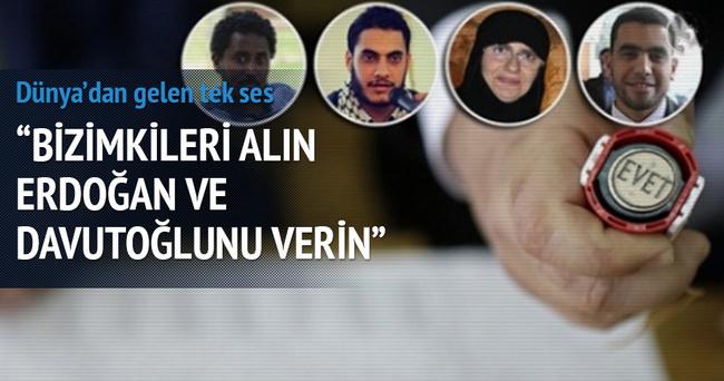 Bizimkileri alın Erdoğan ve Davutoğlu'nu verin