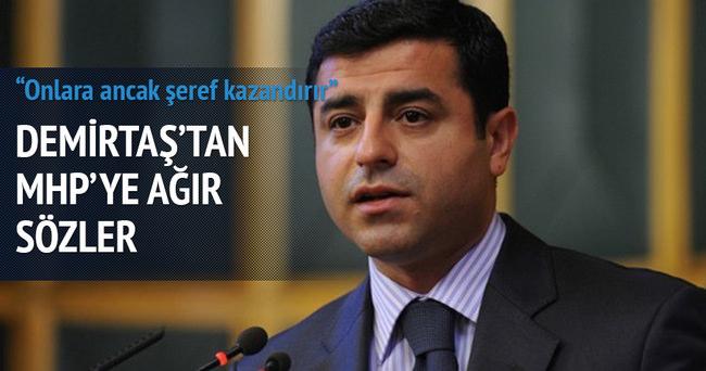 Demirtaş'tan MHP'ye ağır sözler