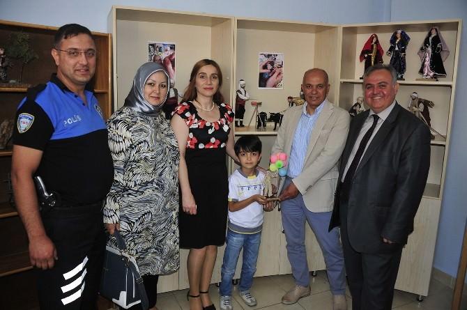 Karaman'da El Sanatları Karma Resim Sergisi Açıldı