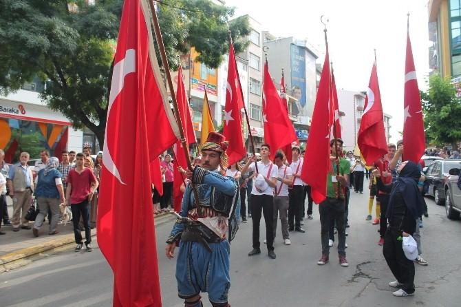 Tekirdağ'da Festival Ateşi Yakıldı
