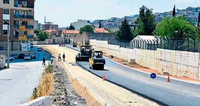 Bornova'da trafik artık rahat akacak