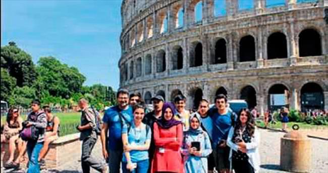 İtalya'yı keşfettiler