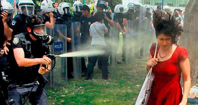 Gazcı polise fidan dikip sulama cezası