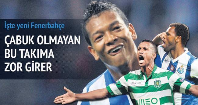 İşte yeni Fenerbahçe