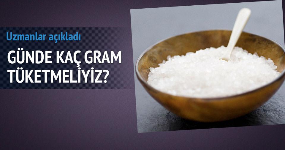 Günde kaç gram tuz tüketmeliyiz?
