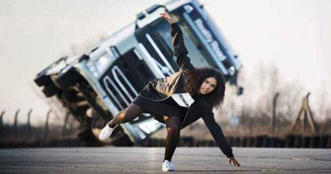 Volvo kamyondan reality show