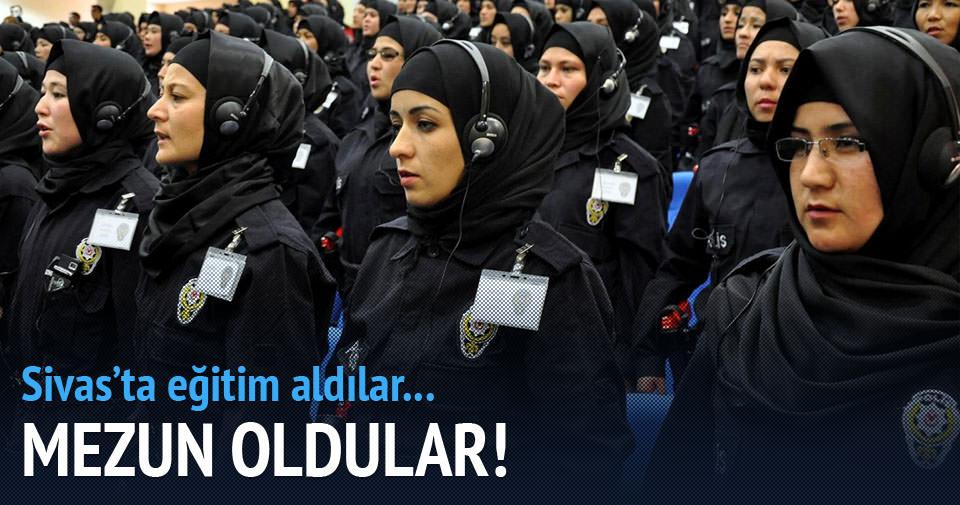 Afgan polisler Sivas'ta eğitiliyor!