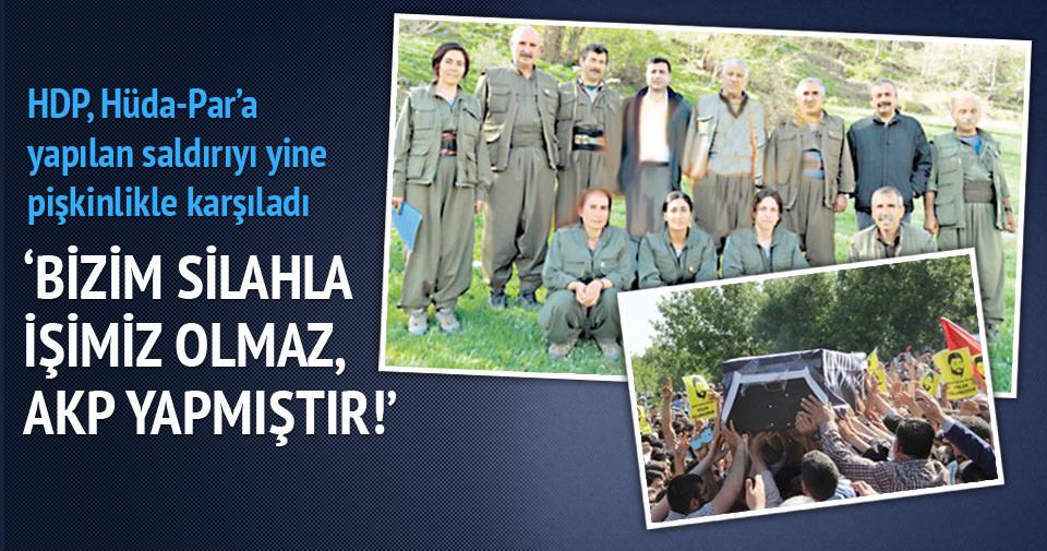 HDP, Hüda-Par saldırısından devleti sorumlu tuttu!