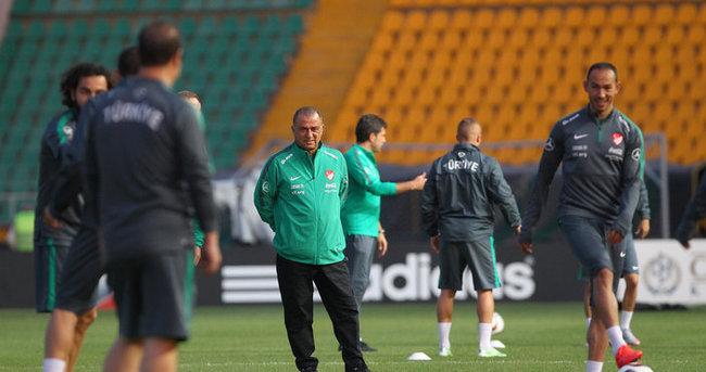 Milli Takım Kazakistan maçı hazırlıklarını tamamladı