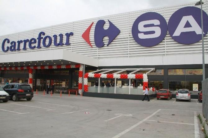 Carrefoursa Samsun'daki İlk Hipermarketini Hizmete Açtı