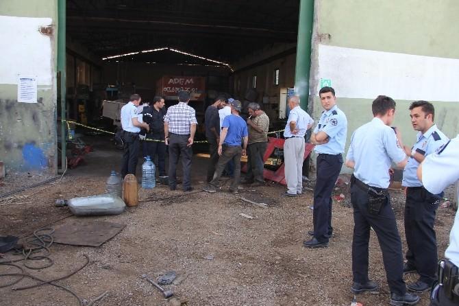 Iğdır'da Kaynak Yapılan Mazot Deposu Patladı: 2 Yaralı