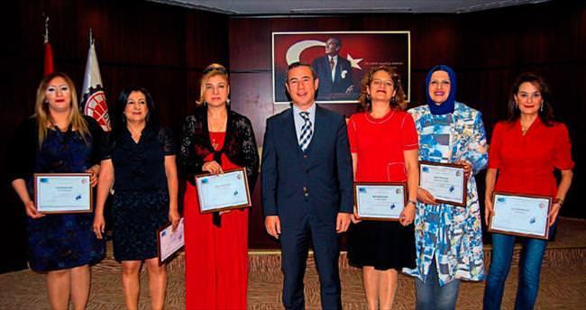 Gaziantep'te girişimci kadınlar sertifika aldı