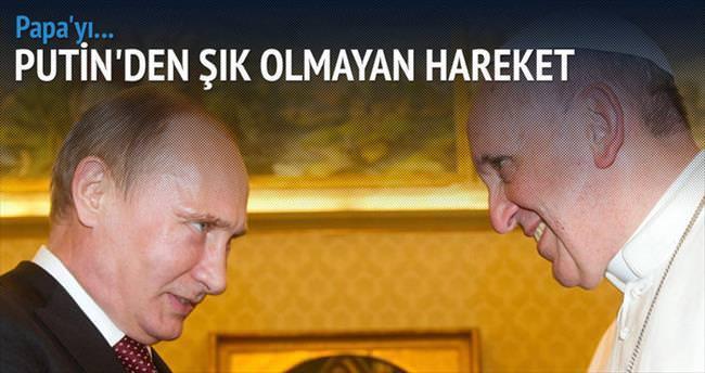 Putin 70 dakika beklettiği Papa ile Ukrayna'yı görüştü