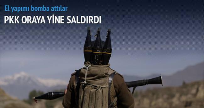PKK Silvan Barajı'na yine saldırdı