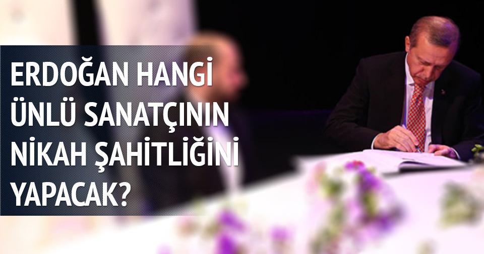 Yavuz Bingöl'ün nikah şahidi Cumhurbaşkanı Erdoğan