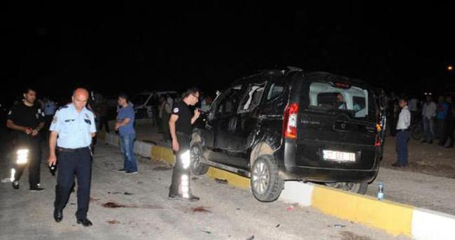 HDP yöneticileri kaza yaptı: 1 ölü, 3 yaralı