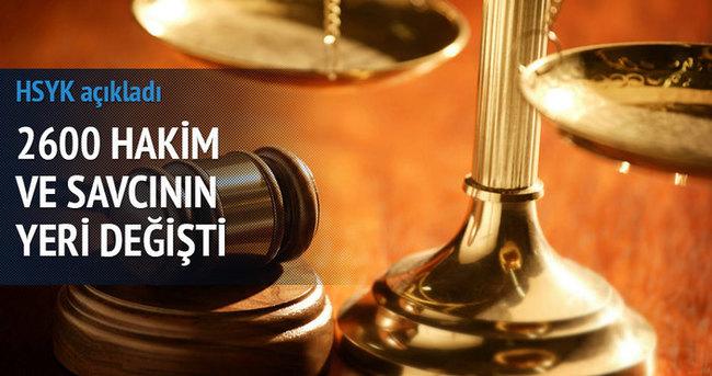 HSYK yaz kararnamesi yayınlandı