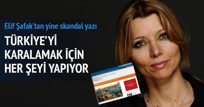 Elif Şafak'tan skandal yazı!