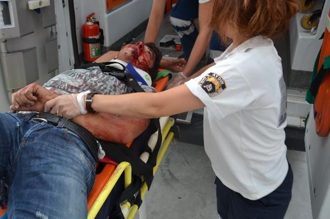 Nazilli'de Hız Tutkunlarının Yarışı Kazayla Sonuçladı
