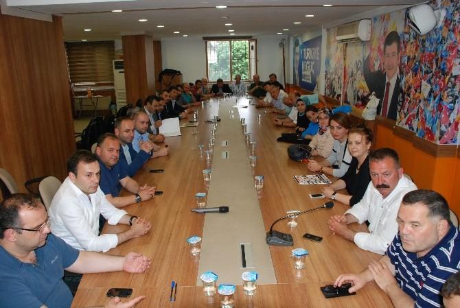 AK Partide İlk Toplantı Yapıldı