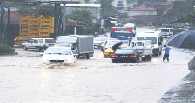 Başkentte sel alarmı
